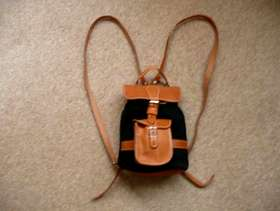 Freecycle Leather Backpack