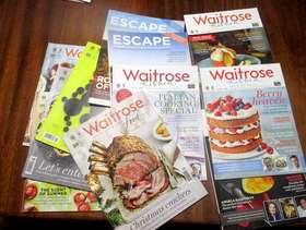 Freecycle FREE Waitrose magazines