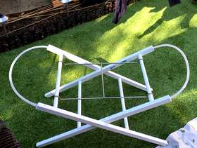 Freecycle Mothercare moses basket stand