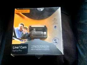 Freecycle CREATIVE Live! Cam Optia Pro webcam - collect from Guildford ...