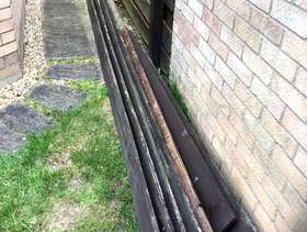 Freecycle Wooden fence boards