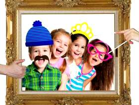 Freecycle 3 Photo Booth Picture Frames