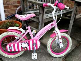 Freecycle Bicycle suitable for small girl