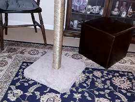 Freecycle Cat scratching post
