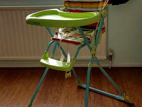 Freecycle Foldable High Chair