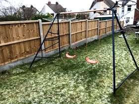 Freecycle Garden swing