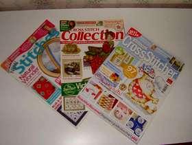 Freecycle Cross Stitch Magazines