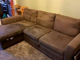 Freecycle 3 seater setee bed - free