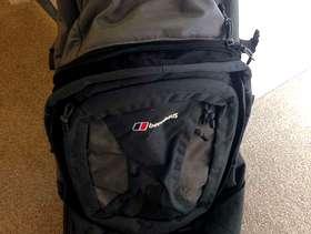 Freecycle Wheeled Berghaus rucksack