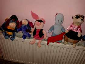 Freecycle Various cuddly toys