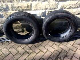 Freecycle Pair of used michelin 205/60 r16 92h
