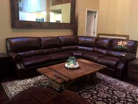 Freecycle Bonded leather couch