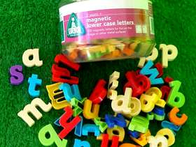 Freecycle Magnetic Lower Case Letters