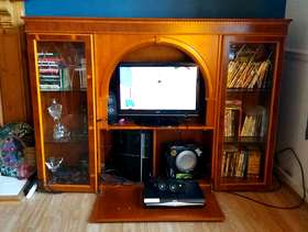 Freecycle Wooden cabinet