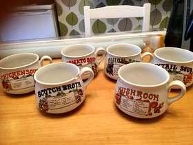 Freecycle Soup mugs