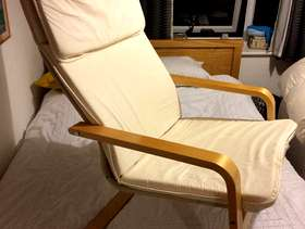 Freecycle IKEA wooden chair