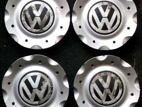 Freecycle Set of 4 VW hub caps for 15-inch alloy wheels