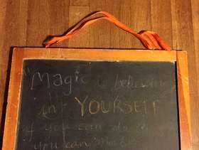 Freecycle Old small chalkboard