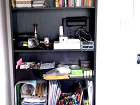 Freecycle Bookcase Billy IKEA, free but just a small offer please