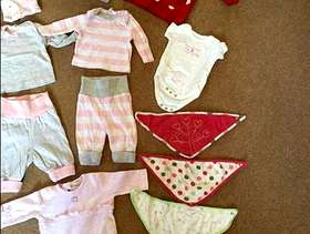 Freecycle Baby clothes - up to 1 month (live) - £10