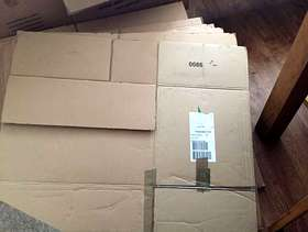 Freecycle Large cardboard boxes for moving or Storage