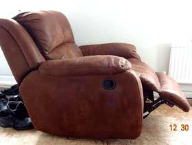 Freecycle Three seater sofa and chair