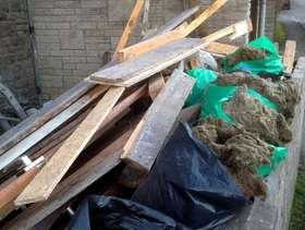 Freecycle Old scrap wood