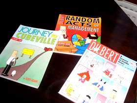 Freecycle DILBERT management books