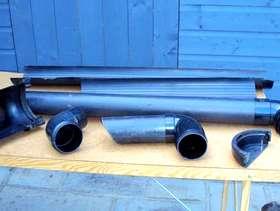 Freecycle Gutter parts, screws + rawl plugs, window ironmongery