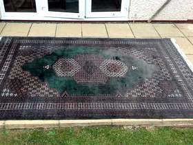 Freecycle Large Indian rug.