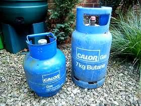 Freecycle 2 x Gas bottles.